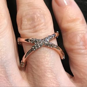 Rose gold ring by House of Harlow 1960